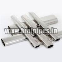 Semi Oval Steel Tubes