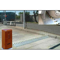 Electrically Operated Spike Barrier