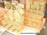 Handicrafts : Bamboo Magazine Rack