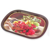 Tin Serving Trays