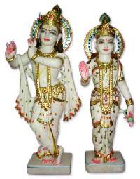 Fine Marble Radha Krishna