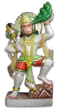 Marble Hanuman with Pahad
