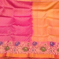 Hand Woven Silk Saree 09
