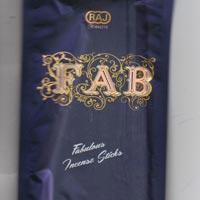 Fab Zipper Blue Incense Sticks