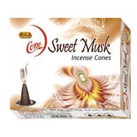 Sweet Musk Incense Cones