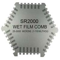 Stainless Steel Wet Film Thickness Gauge