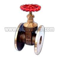 Bronze Metal Gate Valve Flanged ISI Ends Marked(Q-52)