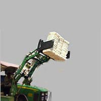 Tractor Attachment for Cotton Bale Handling