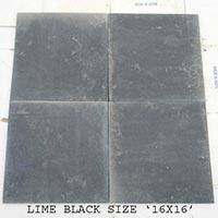 Lime Black Slate Tiles