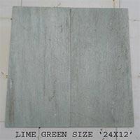 Lime Green Slate Tiles