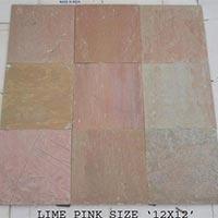 Lime Pink Slate Tiles