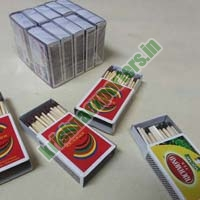 Cardboard Safety Matches 01