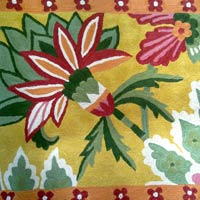 Chain Stitched Floral Cushion Covers