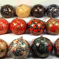 Paper Mache Hanging Balls