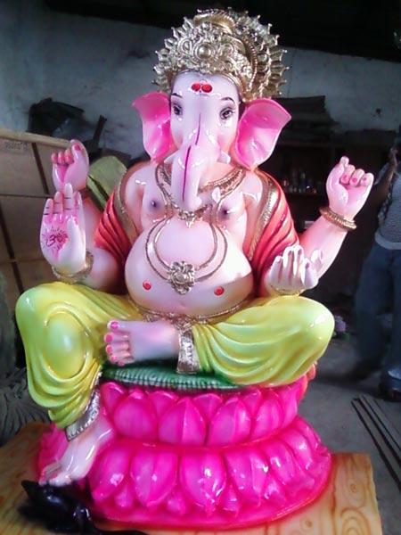 FRP Ganesha Mural