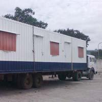 Mild Steel Portable Cabins