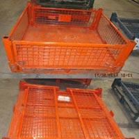 Wire Mesh Cage Bins