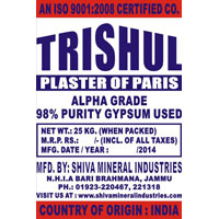 Plaster of Paris (Alpha Grade)