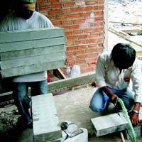 Cellular Lightweight Concrete Bricks Plants