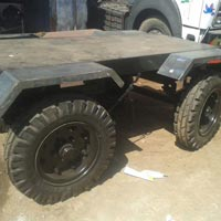 4 Wheel Trolley Manufacturing View