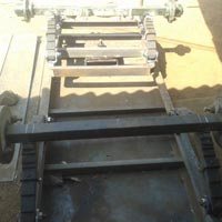 Genset 4 Wheel Trolley Chassis
