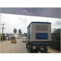 Genset fitted on Trolley