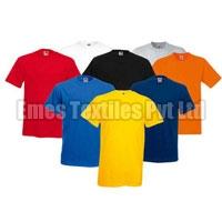 Mens Round Neck Half Sleeve T-Shirts