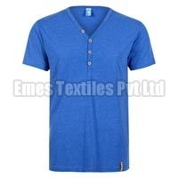 Mens V Neck Half Sleeve T-Shirts
