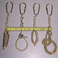 Brass Nautical Keychains