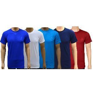 Lyril Men's Round Neck HS T-shirt