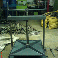 Paper Bag Pressing Machine