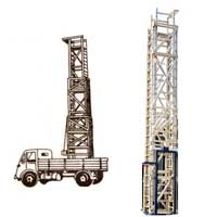 Mobile Tower Ladders