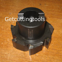 Brazed Carbide Face Mill Cutter