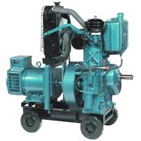 Three Phase Water Cooled Diesel Generator (5 to 11.5 KVA)