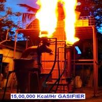 15,00,000 Kcals per Hr Wood Gasifier