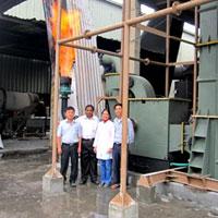 750 KW Gasifier working in Vietnam