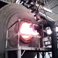 Gasifier for  High Temperature Rotary Furnace