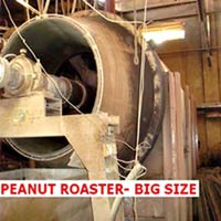 Peanut Roaster with Gasifier Burner At A