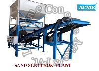 Sand Screening Plant