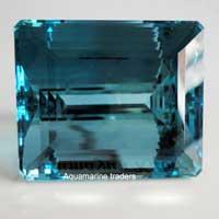 Aquamarine Cut Stone (Aqua - 18)