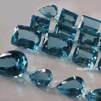 Aquamarine Cut Stone (Aqua - 19)