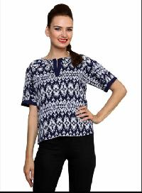 Ladies Top - 1016 Navy Blue