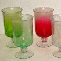Glass Flower Vase (AC - 833)