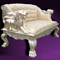 Carving Lion Sofa