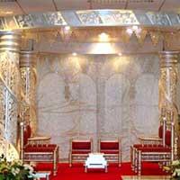 Ganesha Pillar Wedding Mandap