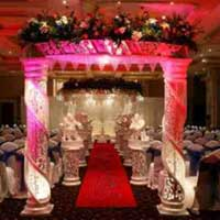 Ganesha Themed Wedding Mandap