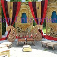 Jharokha Wedding Stage