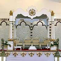 Mandap With Tapered Pillars