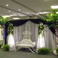 Natural Wedding Stage