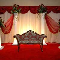 Ring Ceremony Stage